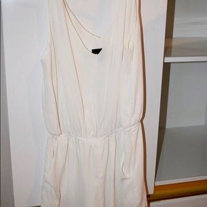 Aqua Cream Small Romper